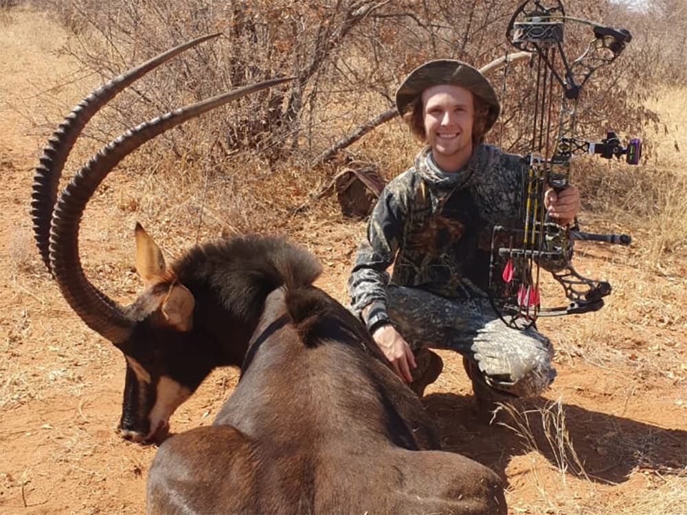 Bow Hunting Sable in South Africa at Bushmen Safaris
