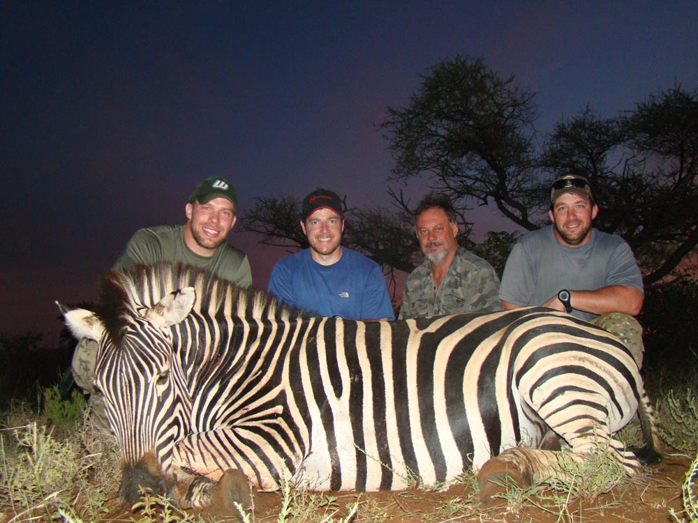 Bow Hunting Zebra in South Africa at Bushmen Safaris